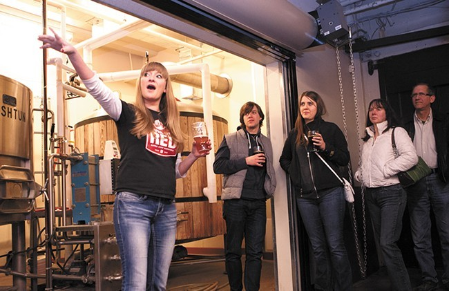 River City Brewing manager Emily Schwartz is also departing as the tasting room closes later this month. - MEGHAN KIRK