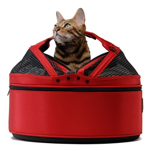 Sleepypods come in several colors, including this classy red.