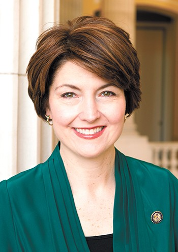 Cathy McMorris Rodgers, the highest-ranking Republican woman in Congress, has represented Washington's 5th congressional district since 2005.