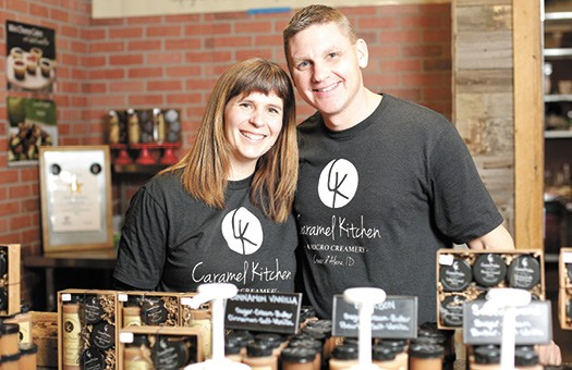 Stephanie and Brad Hunter officially founded Caramel Kitchen in 2015. - YOUNG KWAK