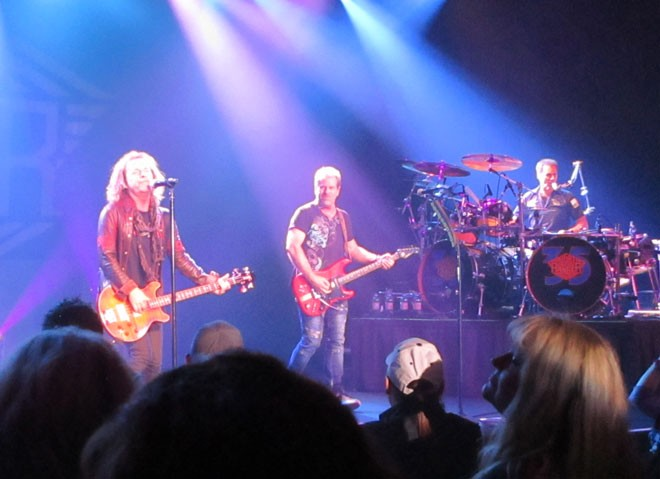 From left: Jack Blades, Brad Gillis and Kelly Keagy started Night Ranger together in 1982. - DAN NAILEN