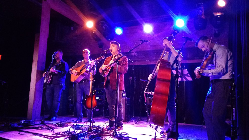 The Travelin' McCourys brought some magic to The Bartlett Wednesday night. - DAN NAILEN