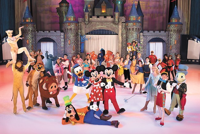 Disney on Ice packs a lot of princesses into its latest show.