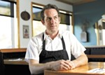 Ruins' chef and owner Tony Brown