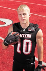 Former EWU player Cooper Kupp, who graduated to the NFL, honed his competitive nature at home with his three siblings.