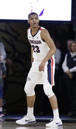 Gonzaga guard Zach Norvell Jr.