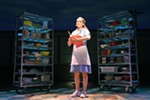 Christine Dwyer stars as Jenna in the touring production of <I>Waitress</I>, which runs through Dec. 16 at the First Interstate Center for the Arts.