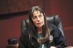 Spokane Tribal Chairwoman Carol Evans