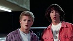 It's Bill and Ted's Excellent Adventure outdoors with beer and prizes!