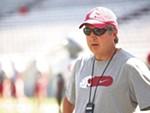 WSU football coach Mike Leach