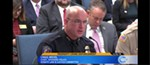 Spokane police chief Craig Meidl speaks before the Senate Law & Justice Committee about how SPD and the Spokane County sheriff's office is spending an extra $300,000 to fight property crimes