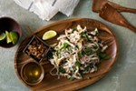 Leftover turkey can be repurposed into many other meals, like this salad.