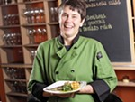 Italia Trattoria chef and co-owner Anna Vogel is a 2018 James Beard Award semifinalist.