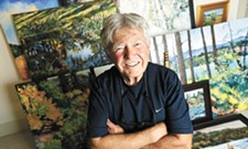 L.R. Montgomery has a lifelong love of the river, and it comes through in his art