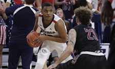 Zags consistencies wear out another opponent