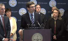 Washington attorney general alleges opioid distributors illegally shipped 'staggering' volume of pills into the state