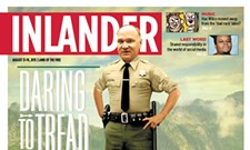 BEHIND THE COVER: Why is Sheriff Ozzie stepping on a snake and some flags?