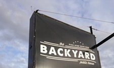 Happy Hour of the week: An upscale dive bar experience at the Backyard