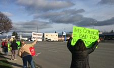 Spokane Valley protesters call for investigation into firing of City Manager Mike Jackson