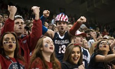 Alton Brown heads to town, Zags hit final four, and morning headlines