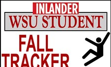 Introducing the <i>Inlander</i>'s WSU student fall tracker: 30 falls and counting