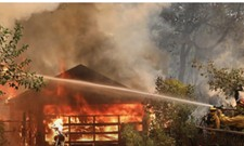 Wildfires in Northern California Kill at Least 10 and Destroy 1,500 Buildings