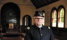 Robert Singletary embodies the theme of the North Idaho Museum's 50th anniversary exhibit