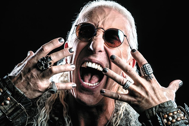 The makeup's gone, but the hair's still there: Dee Snider keeps rocking well past his Twisted Sister years