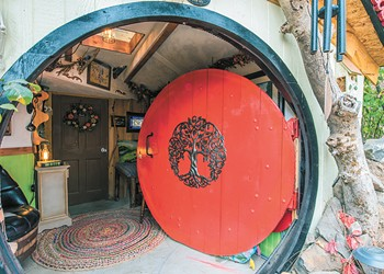 """A Spokane man's Tolkien-inspired """"Hobbit House"""" is drawing curious visitors from across the region"""