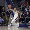 His career with the Zags will be short-lived, but Geno Crandall is shining on the court