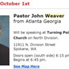 Is this pastor, speaking at Turning Point Open Bible Church Oct. 1, totally racist?
