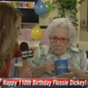 This awesome woman is 110 years old and isn't exactly jazzed to be on TV