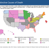 Washington state's top cause of death compared to the rest of the U.S. is...