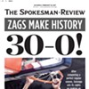 Did the <i>Spokesman-Review</i> just jinx the undefeated Zags?