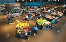 STUART DANFORD - Stands of fresh produce are intentionally seen first when entering My Fresh Basket.