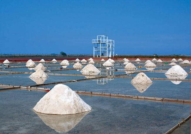 Unlike table salt, which is mined, sea salt is harvested from sea water.