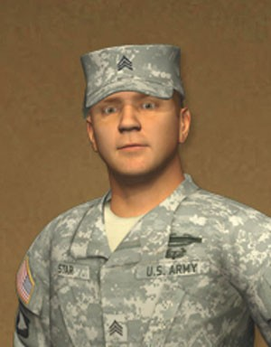 U.S. Army avatar Sgt. STAR - NEXT IT