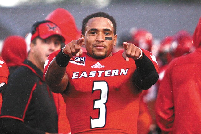 Vernon Adams is coming for you. - RON SWORDS