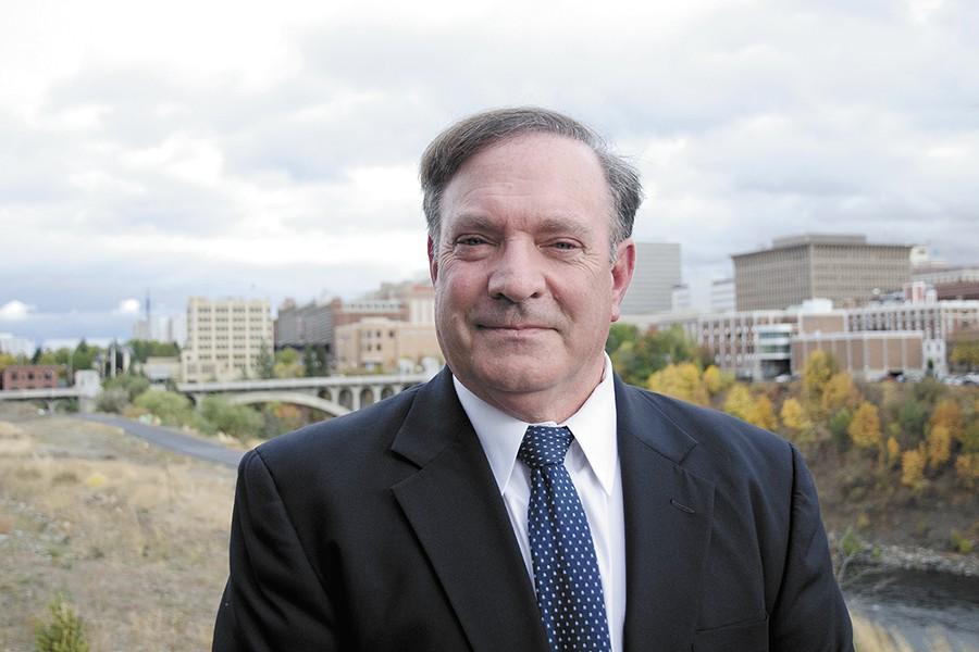 Veteran deputy prosecutor Larry Haskell supports expanded use of alternative sentencing. - JACOB JONES