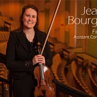 Violinist Jeanne Bourgeois