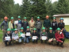 GONZAGA CCASL VOLUNTEER CORPS - Volunteers at Liberty Lake Regional Park