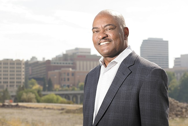 """""""Was there an epiphany? No,"""" WSU President Elson Floyd says about the decision to pursue their medical school. """"Just the reality that someone had to step up."""" - YOUNG KWAK"""