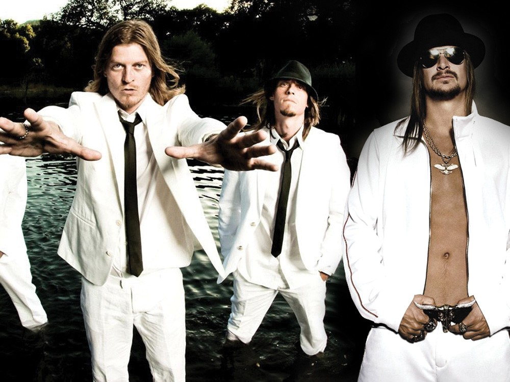 We're covering up Kid Rock's abs for your own safety.