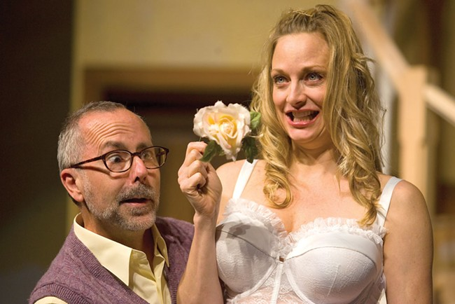 Why is Noises Off a sure-fire hit? Because people act stupidly and run around in their underwear - KEVIN QUINN