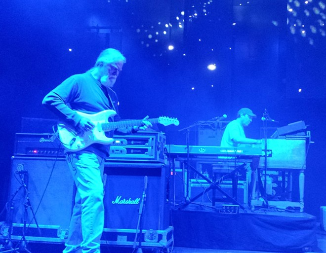Widespread Panic guitarist Jimmy Herring, left, and JoJo Hermann. - DAN NAILEN