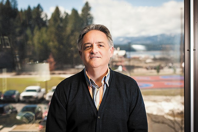 """Widmyer: """"People want to see Coeur d'Alene move forward in a positive direction."""" - MIKE MCCALL"""