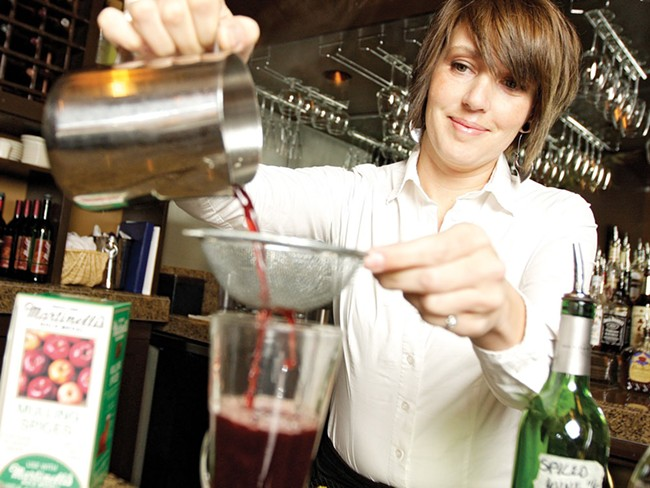 Wild Sage\'s mulled wine is a spicy, citrus-y delight - YOUNG KWAK