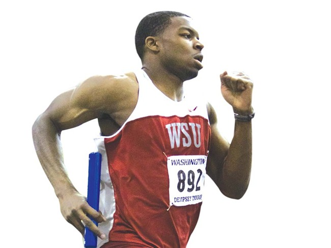 WSU's Jeshua Anderson likes sprinting through quarter-mile-long obstacle courses.