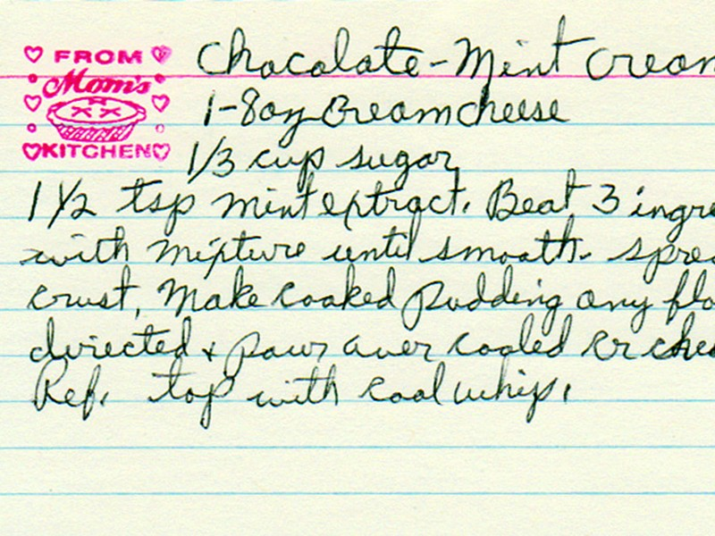 Yesterdish collects and scans old recipe cards rescued from estate sales and trash heaps.
