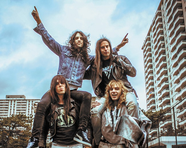 Young Canadian rockers take us back to metal's roots.